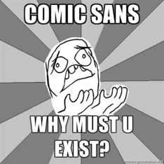 comicsans-meme