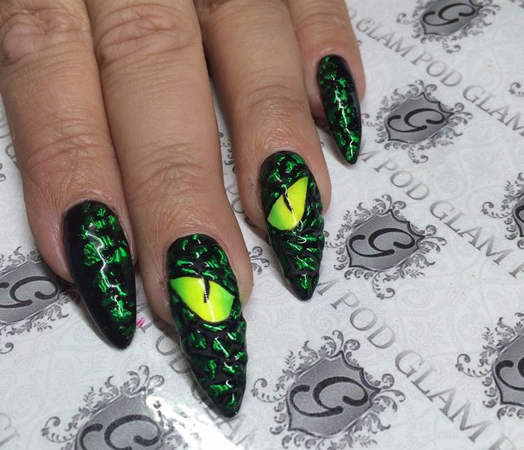 dragon eye nails