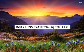 INSPIRATIONAL
